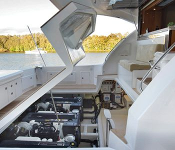 yacht auxillary engine maintenance