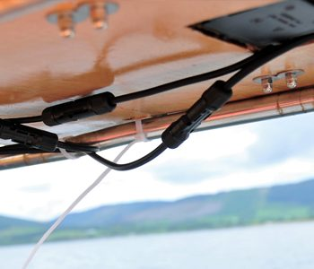 yacht cables and wiring