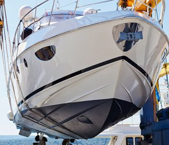 yacht oil drainage and maintenance